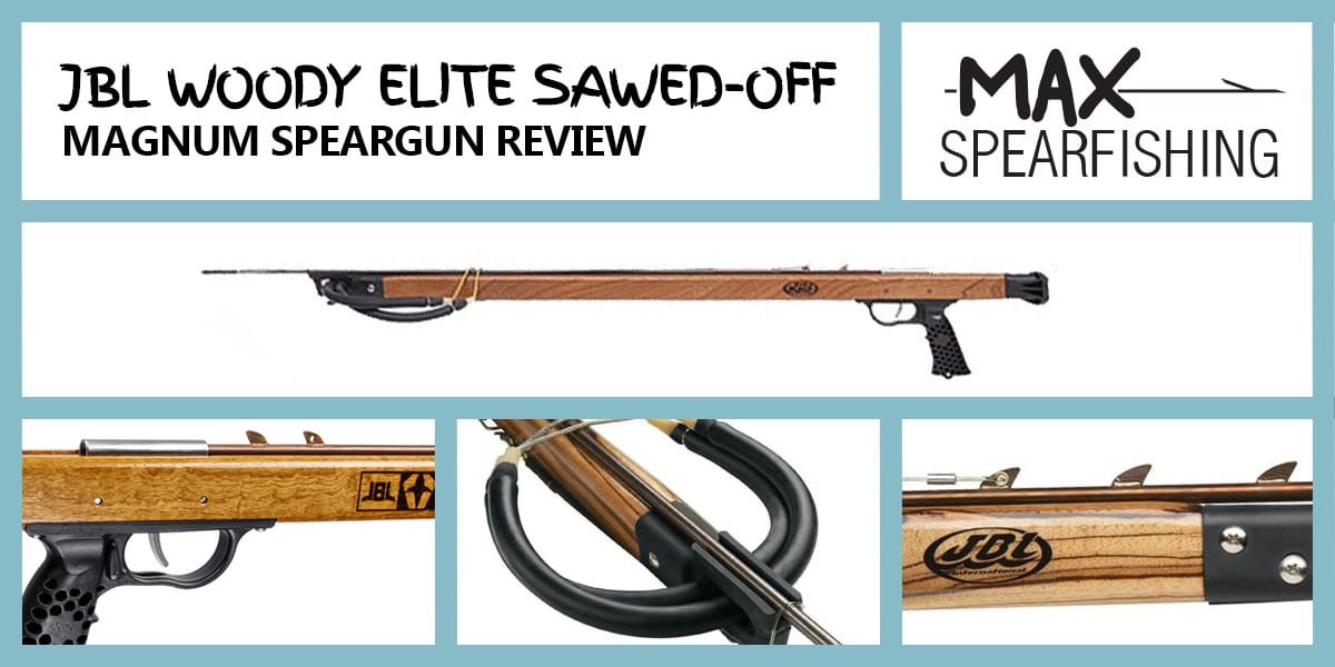 jbl woody elite sawed-off magnum speargun review