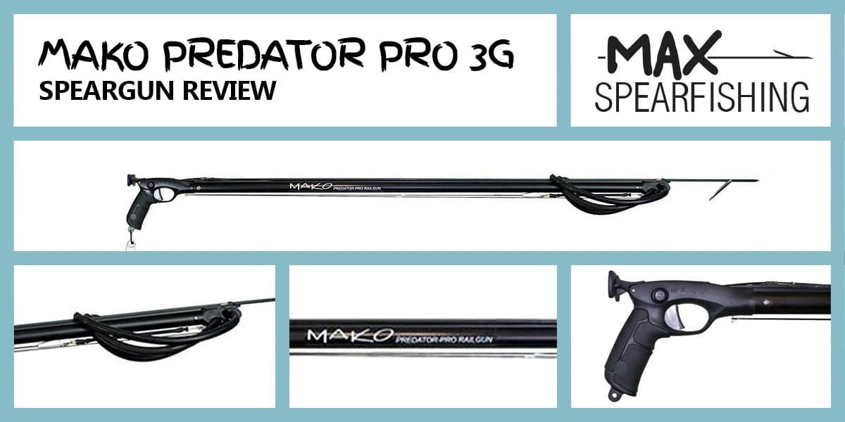 mako predator pro 3G speargun review