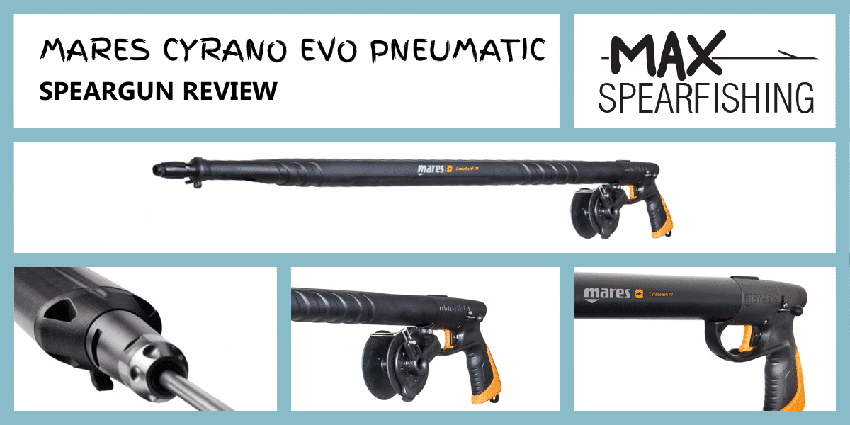 mares cyrano evo pneumatic speargun review