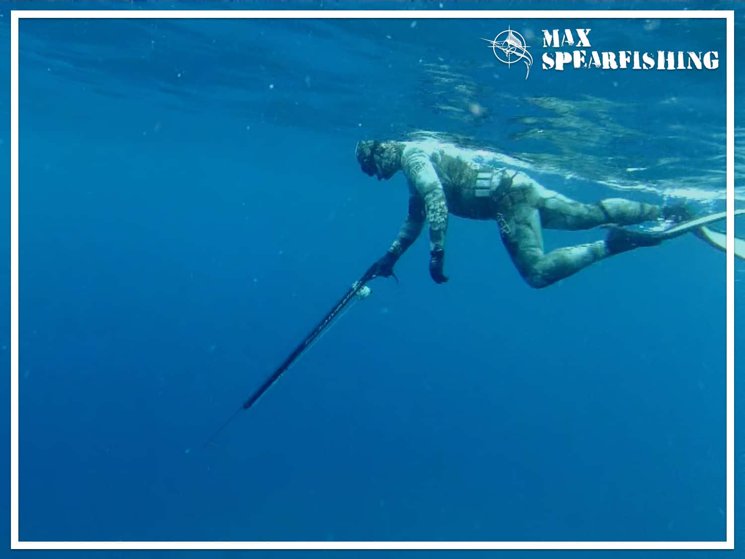 how to spear fish in blue water