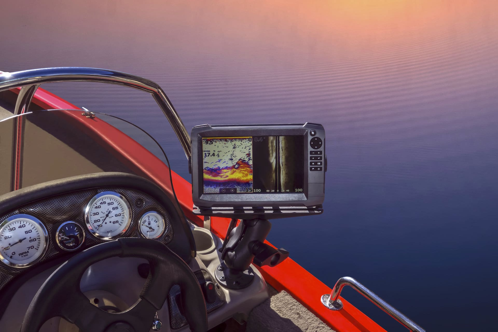 fish finder spearfishing equipment