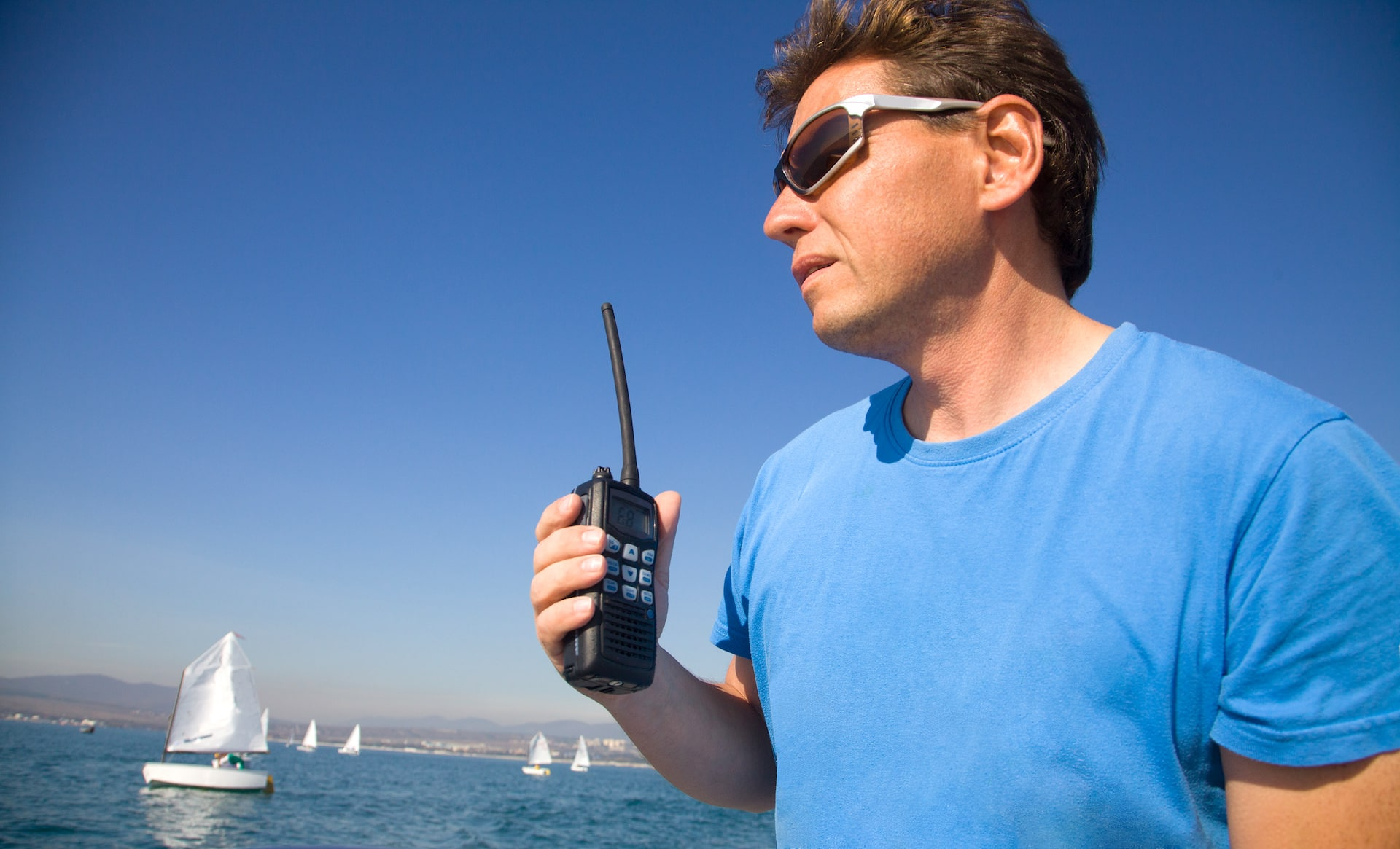 vhf radio spearfishing equipment